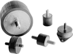 Cylindrical Stud Mounts - A88-041